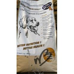 Croquettes pour chien sans gluten Dog Lovers Gold 13 kg - poulet, saumon, agneau, oeuf, riz