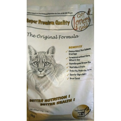 Croquette chat Cat Lovers Gold 5 kg