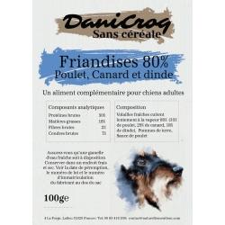 DaniCroc SC friandises à la volaille pour chien sans céréale