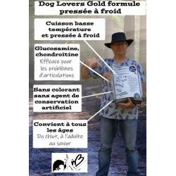 Dog Lovers Gold Poulet Cuisson basse température - Croquettes pour chien avec du poulet frais - sans gluten