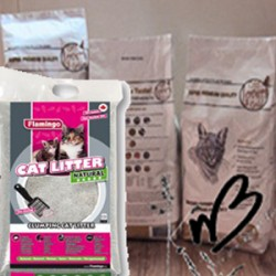 Lot de 3 sacs Cat Lovers Gold (3 x 5 kg) et 1 litière chat (15 kg)